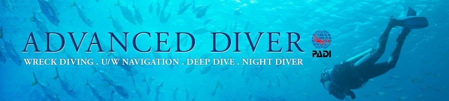 Advanced Diver PADI Courses