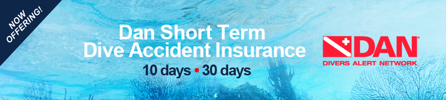 Short Term Dive Accident Insurance